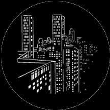 Rosco Laboratories 77443 Gobo Skyscrapers 77443