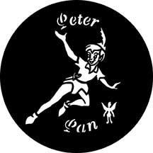 Rosco Laboratories 77584 Gobo Peter Pan 77584