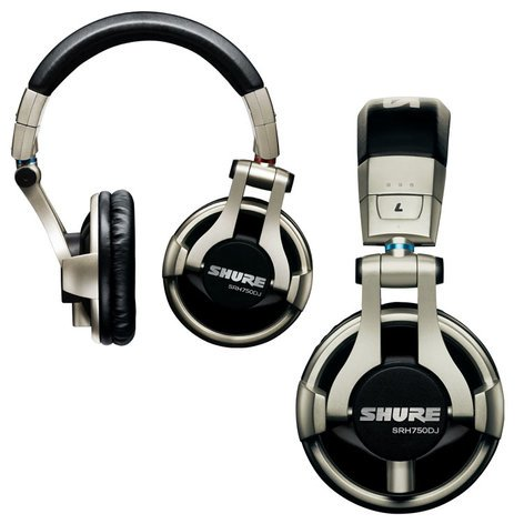 Shure SRH750DJ Professional DJ Headphones SRH750DJ