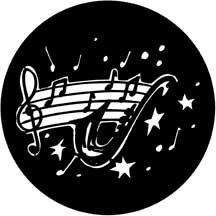 Rosco Laboratories 77934 Gobo Solo Saxophone 77934