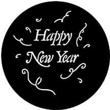 Rosco Laboratories 77982 Gobo Happy New Year 77982