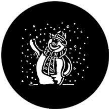 Rosco Laboratories 78018 Gobo Snowman 78018