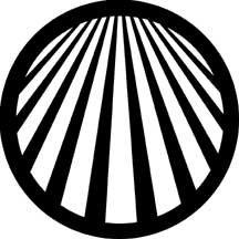 Rosco Laboratories 78047 Gobo Perspective Lines 2 78047