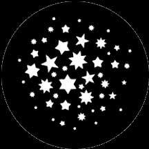 Rosco Laboratories 78122 Gobo Stars 7 78122