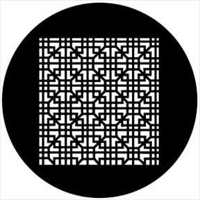 Rosco Laboratories 78528 Gobo Grate Interlock 78528