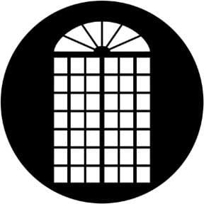 Rosco Laboratories 79020 Gobo Gregorian Door 79020
