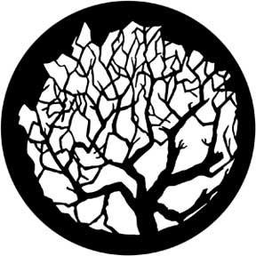 Rosco Laboratories 79101 Gobo Winter Tree 1 79101
