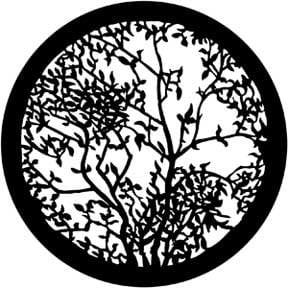 Rosco Laboratories 79107 Gobo, Leafy Branches 2 79107