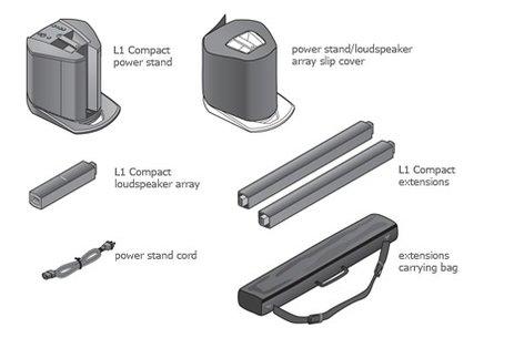 Bose L1-COMPACT L1 Compact Portable Line Array L1-COMPACT