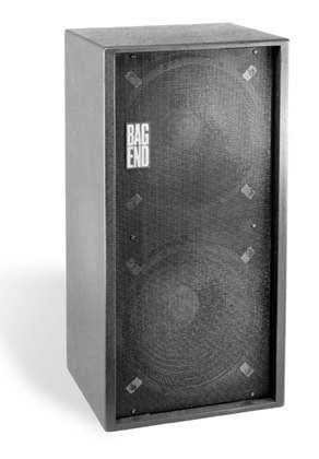 """Bag End PD18E-R Powered Subwoofer, 1,000W Continuous, 2 x 18"""", RO-TEX Finish, Casters PD18E-R"""