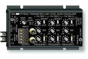 Radio Design Labs FP-PEQ3 3-Band Parametric Equalizer FP-PEQ3
