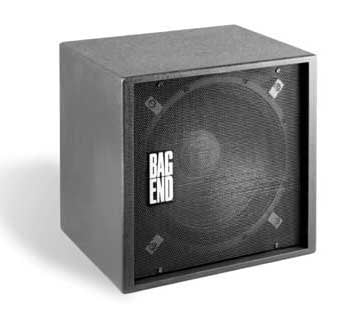 """Bag End PS18E-R Powered Subwoofer, 500W Continuous, 18"""", RO-TEX Finish PS18E-R"""