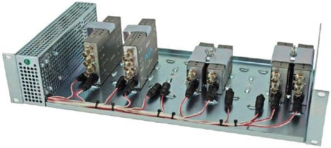 AJA Video Systems Inc DRM Frame 2RU Rack Frame for Mini Converters with Power Supply DRM-FRAME