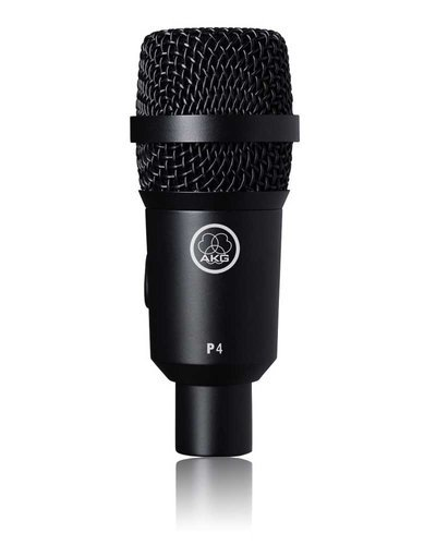 AKG P 4 Perception Live Series Dynamic Cardioid Microphone for Musical Instruments and Amplifiers P4-AKG