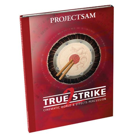 ProjectSAM TRUE-STRIKE2  World Percussion Software Library TRUE-STRIKE2