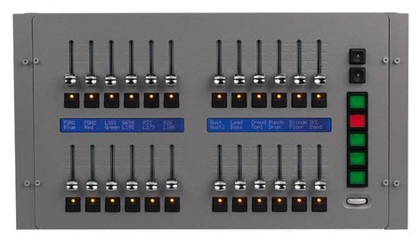 Elation Pro Lighting MaxModule Submaster 24 Fader Module (90732170) MAXMODULE-SUBMASTER