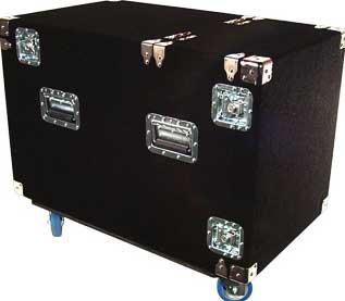 Grundorf Corp SNR12C  12 RU Snake Rack (with Casters) SNR12C