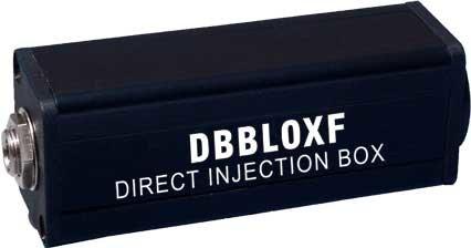 Rapco DBBLOXF Lo-Z to Hi-Z Transformer BLOX DBBLOXF