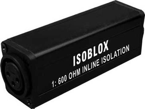 Rapco ISOBLOX  1:1 600 Ohm Signal Isolation BLOX ISOBLOX