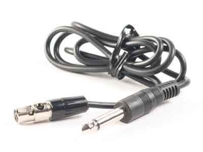 """Anchor 6000-14P Cable Adapter for Beltpack, 4 pin to 1/4"""" 6000-14P"""
