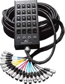 RapcoHorizon Music 150P16S  150 ft. Pro Series 16-Channel 12x4 Snake 150P16S
