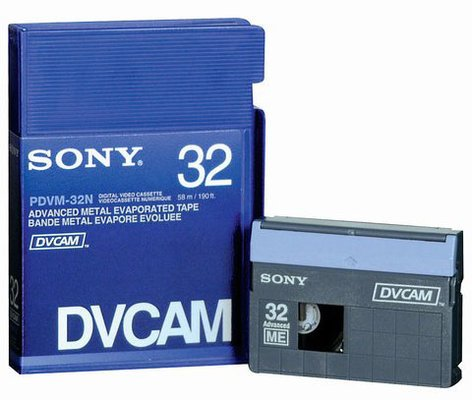 Sony PDVM32N  DVCAM Tape, No Chip 32 Minutes PDVM32N