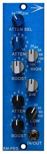 A-Designs EM-PEQ 500 Series 1-Channel EQ Module EM-PEQ