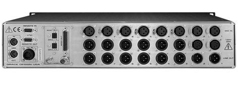 Grace Design M802 Remote Controlled mic preamplifier, 8-channel, w/optional A/D converter module available M802
