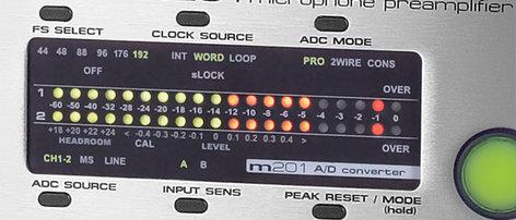 Grace Design M201A/D A/D Option Module  for M201 preamp (not included) M201A/D