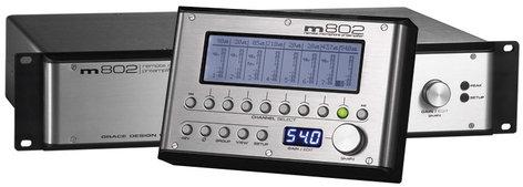 Grace Design M802RCU  Remote Control Unit f/M802 preamp (not included) M802RCU