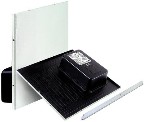 Bogen Communications ACD2X2U Amplified Drop Ceiling Speaker in Bright White, Sold in Pairs ACD2X2U