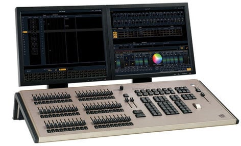 ETC/Elec Theatre Controls LMNT-60-500 60 Fader, 500 Control Channel Element Lighting Console without Monitors LMNT-60-500