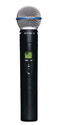 Shure ULX2/BETA58-J1 Handheld Transmitter with BETA58 Microphone, 554-590. ULX2/BETA58-J1