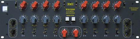 Chandler Limited CURVE-BENDER Equalizer, Based on EMI TG12345, 2 Channel, 4 Band Parametric, *Power Supply NOT Included CURVE-BENDER