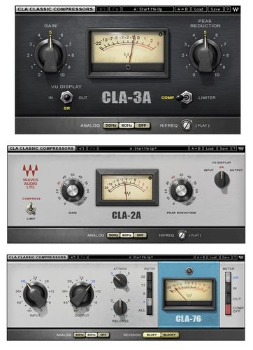 Waves CLA Classic Compressors Chris Lord-Alge Classic Dynamics Plug-in  Bundle (Download)