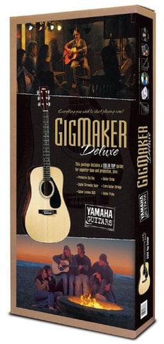 Yamaha Gigmaker Deluxe Acoustic Guitar Package GIGMAKER-DLX