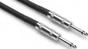 "Hosa SKJ610  10 ft. 16 Gauge 1/4"" TS-1/4"" TS Cable SKJ610"