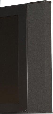 Innovox Audio FS-V2-BLK One Pair of Vertical Side-Mount Speakers for Flat Screen TVs/Monitors FS-V2-BLK