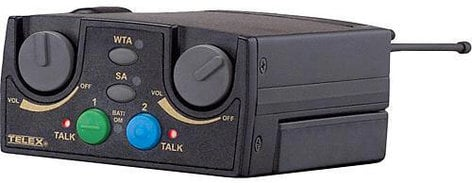 Telex TR80N 2-Channel Intercom System with the A4M Connectors in UHF Narrow TR80N