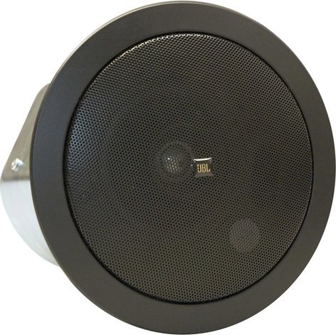 "JBL Control 24CT 4"" 2-Way Ceiling Speaker with 70V/100V Transformer in Black CONTROL-24CT-BK"