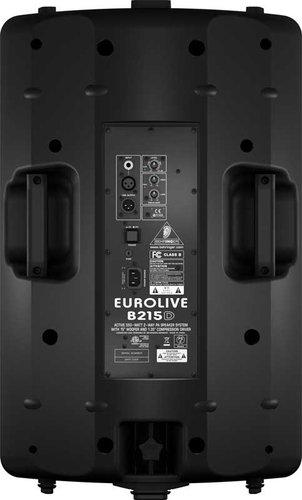 """Behringer B215D-EUROLIVE Active 2-Way Speaker, 15"""" Woofer, Class D Amplifier, 550W Peak B215D-EUROLIVE"""