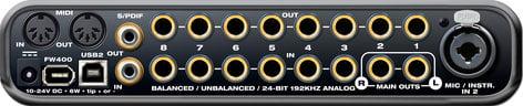 MOTU UltraLite-mk3 Hybrid Mobile Firewire & USB Audio Interface ULTRALITE-MK3-HYBRID