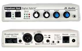 JK Audio HOST Desktop Digital Hybrid HOST