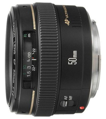 Canon 2515A003 EF 50mm f/1.4 USM Lens 2515A003