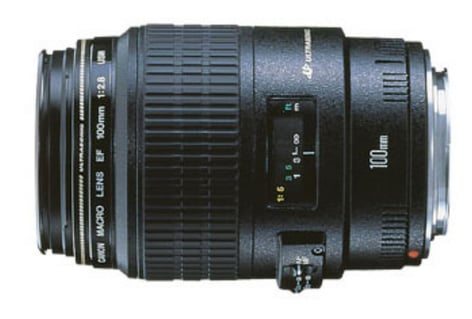 Canon 4657A006 EF 100mm f/2.8 Macro USM Lens 4657A006