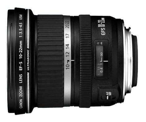 Canon 9518A002 Wide Zoom Lens, EF-S 10-22mm f/3.5-4.5 USM 9518A002