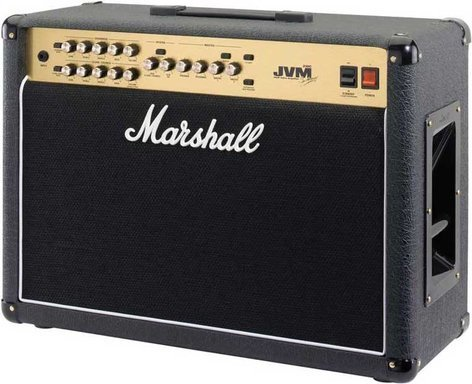 "Marshall Amplification JVM205C Guitar Amp, Tube Combo, 2-Channel, 50W, 2x12"" JVM205C"