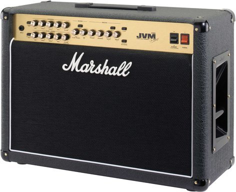 "Marshall Amplification JVM210C Guitar Amp, Tube Combo, 2-Channel, 100W, 2x12"" JVM210C"