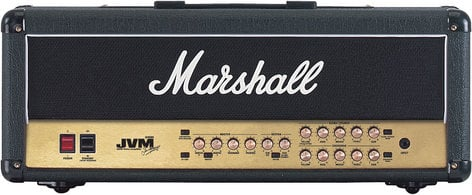 Marshall Amplification JVM210H 100W 2-Ch Tube Guitar Amplifier Head JVM210H