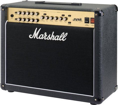 "Marshall Amplification JVM215C Guitar Amp, Tube Combo, 2-Channel, 50W, 1x12"" JVM215C"